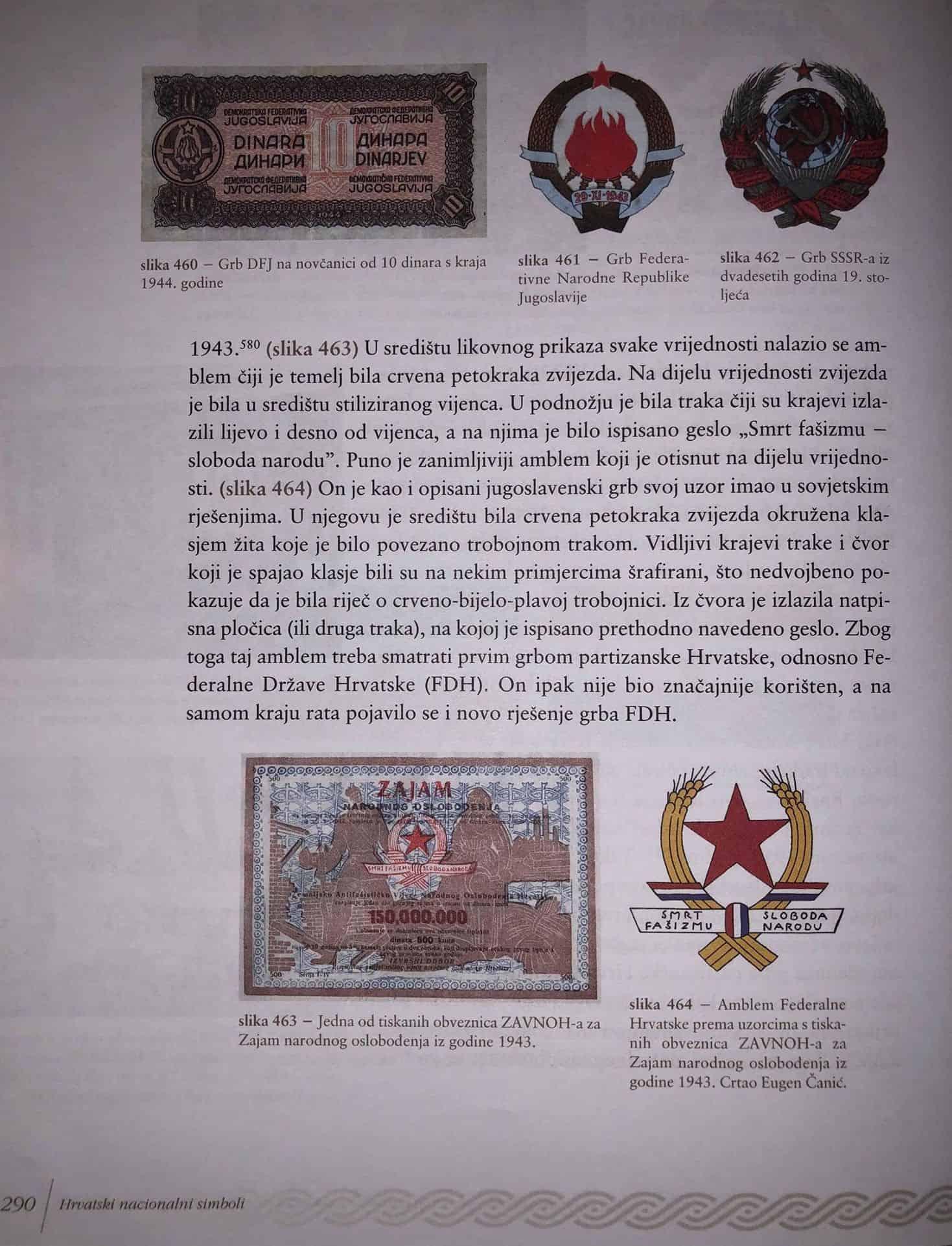 Karačić Prvi Grb Komunističke Hrvatske Imao Je Prvo Bijelo