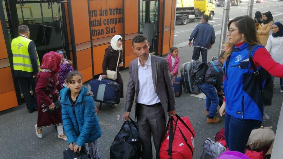 Izbjeglice koje su u sklopu organiziranog premještaja stigle u Zagreb.
