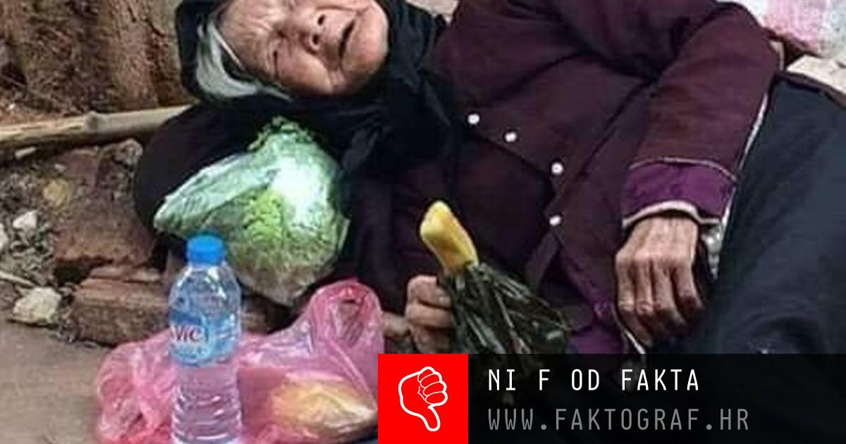 Ne nasjedajte na prevaru, ova bakica uslikana je u Vijetnamu
